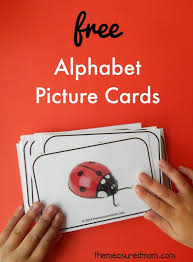 alphabet picture cards free picture cards for learning alphabet sounds the measured mom
