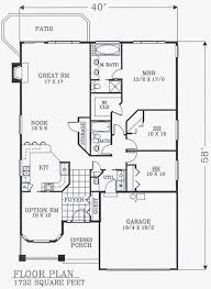 craftsman house plans without garage fresh floor plans narrow lot homes bungalow cottage country craftsman