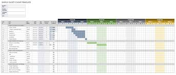 007 Release Planning Gantt Chart Template Ideas Free