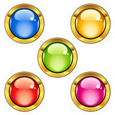 Vector Glossy Buttons Royalty Free Cliparts Vectors And Stock