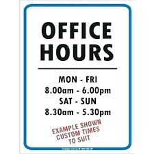 Business Hours Sign Store Funny Estatedafrique Info