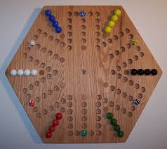 Wooden Game With Marbles marbles game boards Wooden Aggravation Marble Game Board 100 30
