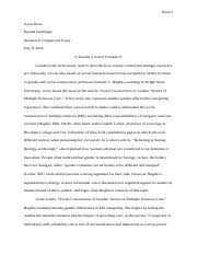 argumentative essay doan does technology make us more alone in  6 pages uyen doan analytical comparison essay