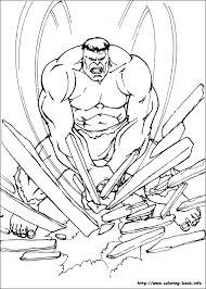 Hulk Coloring Pages On