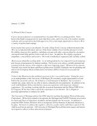 Awesome Collection Of Recommendation Letter For Teaching Position