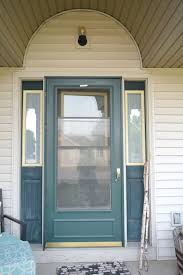 front door curb appealAdding curb appeal how to paint shutters and front door  Our