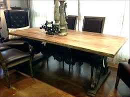 black rustic dining table kitchen distressed black round dining table