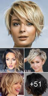 Hairstyle Best Short Hairstyles 2019 Over 50 For Round Faces Wavy