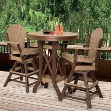 wood patio bar set. Patio Bar Set Attractive Outdoor Pub Tables Pertaining To Made Sets Com Designs 9 Kmart . Wood E