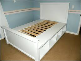 Full Bed Frame With Drawers Full Size Wooden Bed Frame With Drawers ...