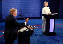 Image result for clinton/trump debates