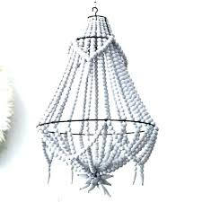 pottery barn beaded chandelier white pictures gallery of large wood gal rowan iron beade