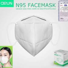 10pcs FFP2 N95 Mask Mask for germ protection air pollution ... - Vova