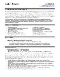Education Coordinator Resumes A Resume Template For A Client Relations Coordinator You