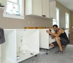 Cabinet Installation Company Installing Kitchen Cabinets Youtube