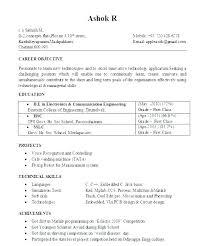 Mba Graduate Resume Custom Sample Resume Curriculum Of A Mba Student Model Students Socialumco