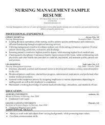 Nurse Manager Resume Fascinating Assistant Nurse Manager Resume Llun