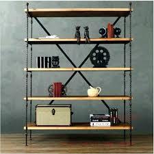 vintage wood shelf vintage wood shelves iron and wood bookcase country vintage wrought iron shelf bookcase