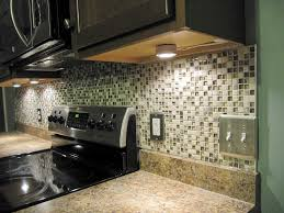 under cabinet lighting ideas. Small Ceramic Tile Backsplash Under Kitchen Cabinet Light Bulbs Using Dark Lighting Ideas