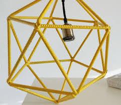 Ιcosahedron Μetal Ιndustrial light modern chandelier lighting ceiling light fixture geometric lamp minimal mathematical handmade