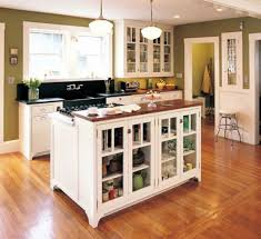 Kitchen Island Open Shelves 15 Gorgeous Kitchen Islands With Storage Lovely Spaces