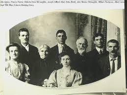 John Wesley McLaughlin and Malvina Drew McLaughlin 1906 with Frances Homer  McLaughlin (b. 1865) Lillie Agnes McLaughlin (b. 18… | Pictures, John wesley,  Mclaughlin