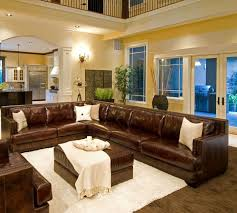 Brown Leather Sectional Couches Brown Leather Sectional Sofa
