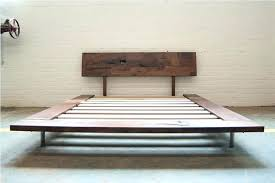 platform bed no box spring. Fine Box Queen Bed Frame No Box Spring  Essential Faux Leather Upholstered Platform Fr On Modern Slats  For E