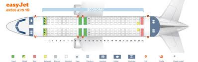 Airbus A319 Seating Chart Easyjet Fleet Airbus A319 100 Details And Pictures