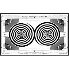 Dsc Labs Fiddlehead Backfocus Senior Focus Pattern Resolution Chart