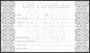 Free Word Gift Certificate Template Image Collections - Avery ...