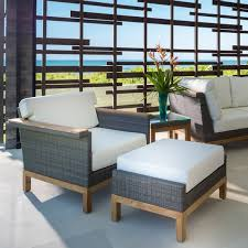 elegant outdoor furniture. kingsleybate elegant outdoor furniture azores lounge chair and ottoman f
