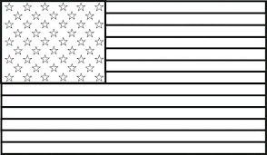 American Flag Coloring Page For First Grade Coloring Games Movie