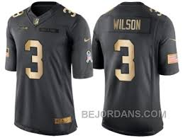 Free Shipping 60 Off Nike Seattle Seahawks 3 Russell Wilson Anthracite 2016 Christmas Gold Mens Nfl Limited Salute To Service Jersey