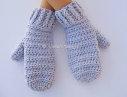 Mitten Pattern New Crochet Mitten Pattern Crochet Pattern 48 By AlenasDesign On Zibbet