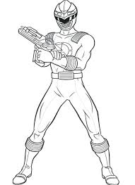Coloring Pages Of Power Rangers Power Rangers Ninja Storm Show His