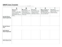 Daily Goals Template Free Smart Goals Template Sales Examples Daily Setting For