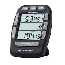 Countdown Roll Chart Holder Digi Sense Traceable Triple Display Digital Clock Timer