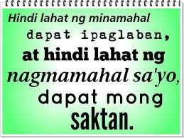 Best Tagalog Sad Love Quotes - Ipaglaban at Saktan via Relatably.com