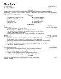 Internal Job Resume Examples Sample – Banri