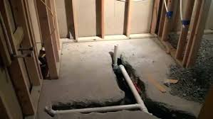 installing a basement bathroom with concrete floor medium size of bathroom to install toilet drain in installing a basement bathroom