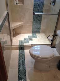 5 x 8 bathroom remodel 2. Plain Remodel Caribbean Glass Tiles With 12 X Cream Marfile Marble To 5 X 8 Bathroom Remodel 2