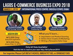 Flyer Design Ideas 2018 Flyer Design For Lagos E Commerce Business Expo 2018
