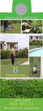 Landscaping Door Hangers Door Hangers For Landscapers 1800businesscards