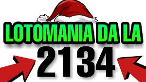 LOTOMANIA DA LA 2134 - YouTube