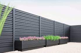 fence with panels minimal formino