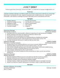 Examples Of Resumes Formats Different Types A Resume For Sample