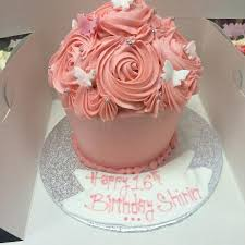 Girly Giant Cupcake Picture Of Devine Cakes Nottingham Tripadvisor