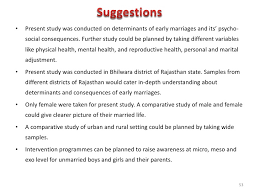 Advantage And Disadvantage Of Early Marriage Essay