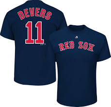 Red Men's Shirts Sox Boston